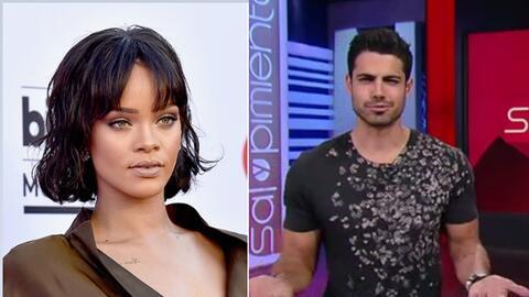 #LoMásPicante: Rihanna casi lo enseñó todo todito y Roberto aún no se la...