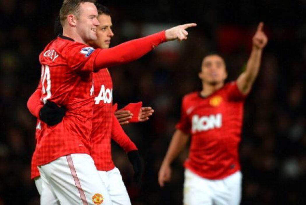 El 2-0 hacía justicia y le daba claridad al Manchester United.
