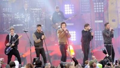 La agrupación inglesa continúa en la cima del éxito con su álbum 'Four'.