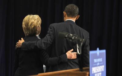 Clinton y Obama superaron sus diferencias por el bien de la nación