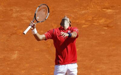 Djokovic cayó en su debut en Montecarlo