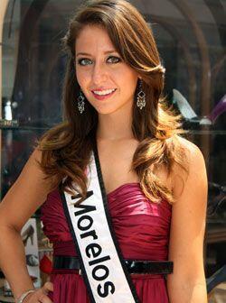 Anaís Aguilar Macedo de 18 años es Nuestra Belleza Morelos...