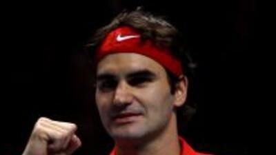 Roger Federer ocupa el segundo lugar del ranking de la ATP.