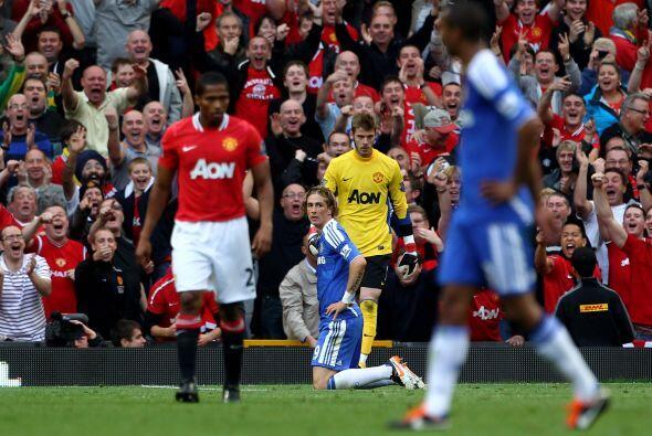Las fallas del Chelsea fueron demasiadas y no tuvieron tiempo de m&aacut...