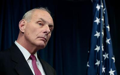 General John Kelly, secretario de Seguridad Nacional