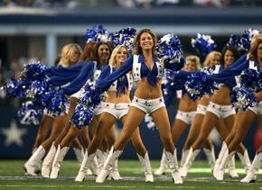 Las cheerleaders de los Dallas Cowboys cautivaron en Día del Pavo, Checa...