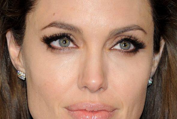La actriz Angelina Jolie quedó en el séptimo lugar. La esposa de Brad Pi...