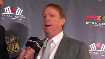 Mark Davis: Los Raiders queremos 'solo ganar bebé' en México
