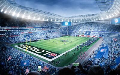 Tottenham Hotspur nuevo estadio NFL