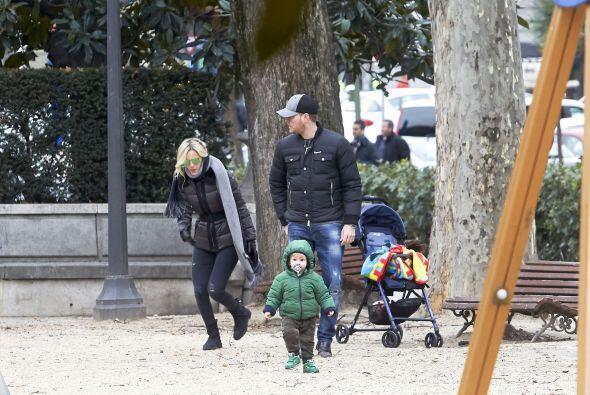 Por fin llegaron a un parque para pasar tiempo de calidad con Noah.