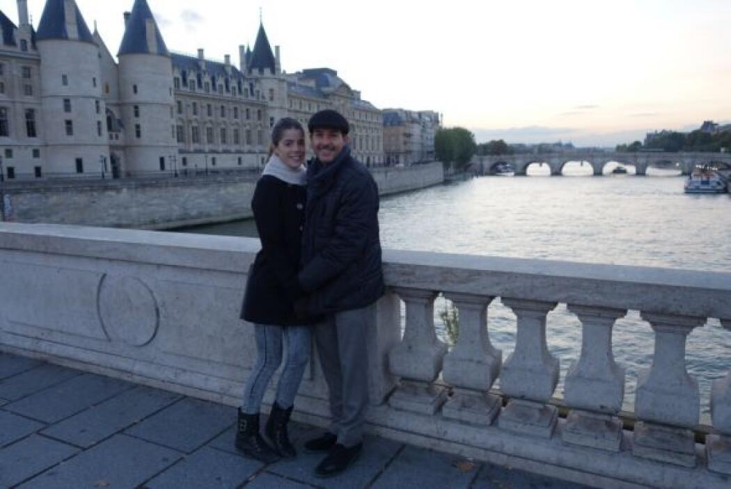 La vista desde el Río Sena es muy romántica, ¿qué tal?
