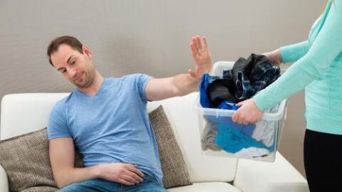 pareja tareas del hogar