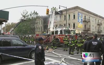 Un muerto y tres heridos tras explosión