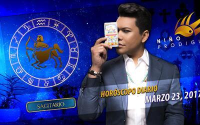 Niño Prodigio - Sagitario 23 de marzo, 2017