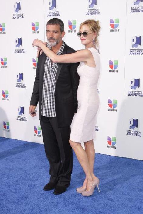 Antonio Banderas y Melani Griffith