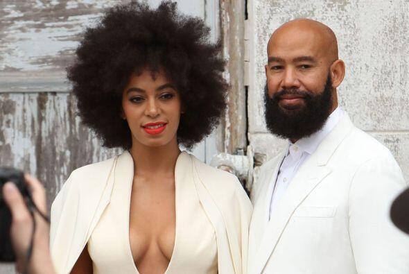 Solange Knowles, hermana de Beyoncé, y su marido Alan Ferguson qu...