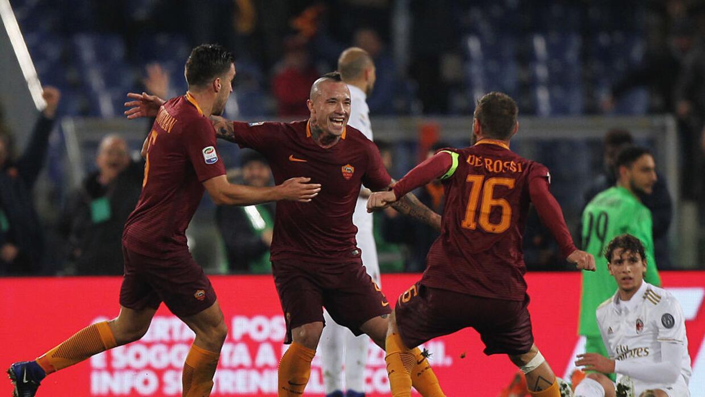 Juventus y Roma toman posiciones