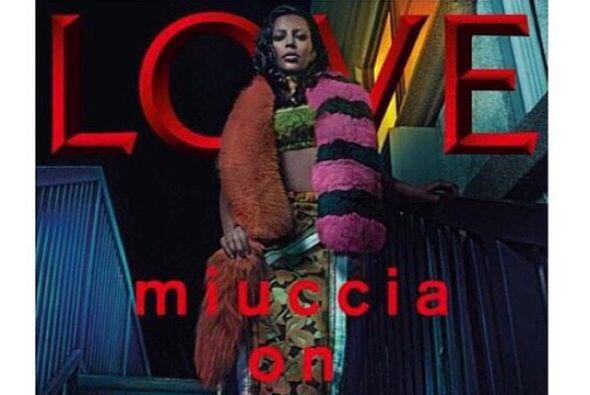 La socialité posó para la revista LOVE y luce irreconocibl...