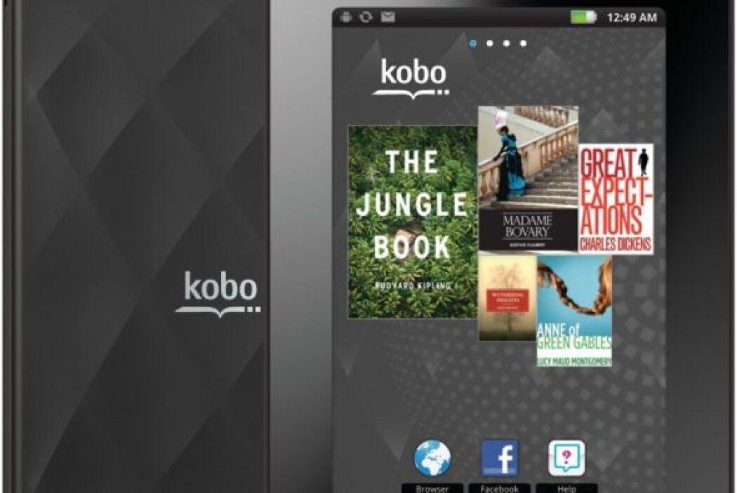 Kobo Multi Touch: con  su conexión WiFi podrás navegar por internet, env...