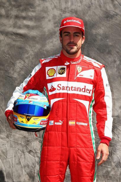 Fernando Alonso, España, Ferrari.