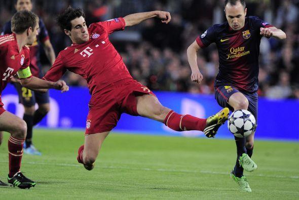 Ni futbolistas como Andrés Iniesta estaban viéndose a la altura del jueg...