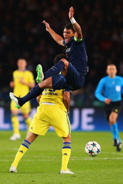 EL PSG logró rescatar el empate 1-1 ante el Chelsea en el Parque...