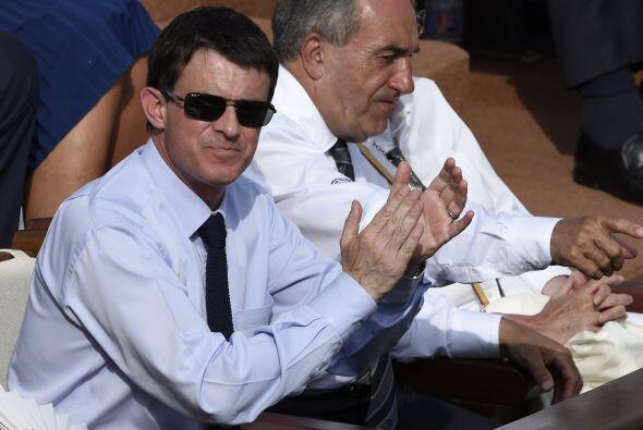 El Primer Ministro de Francia, Manuel Valls.