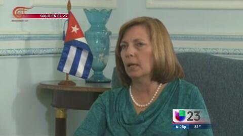 Josefina Vidal dice por qué Raúl Castro no recibió a Obama en Cuba
