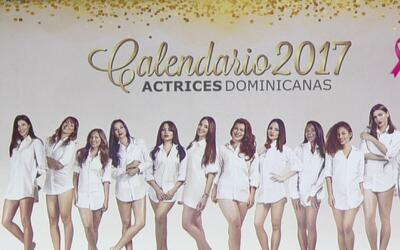 Actrices dominicanas posan en un calendario a beneficio de víctimas de c...