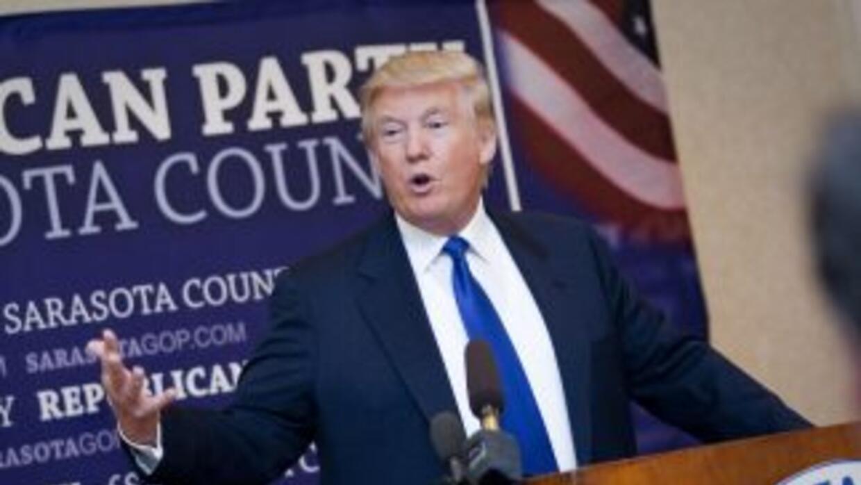 El multimillonario Donald Trump revivió la vieja cuestión del lugar de n...