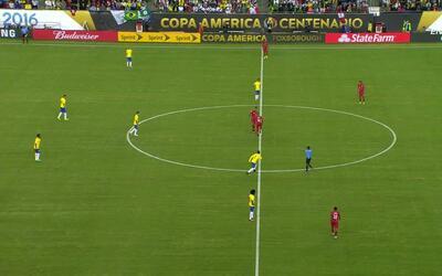 Highlights: Perú at Brasil on June 12, 2016