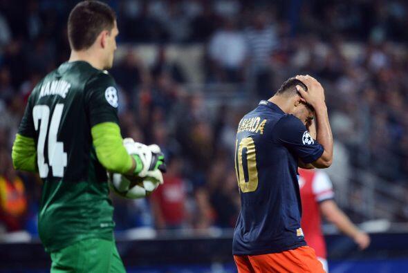 Montpellier estuvo muy cerca de empatar una vez más, pero el Arsenal se...