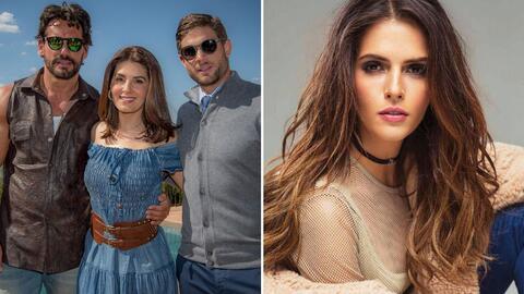 Mayrín Villanueva sale de 'En tierras salvajes' y Claudia &Aacute...