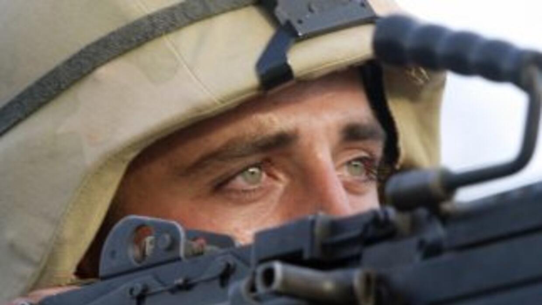 Soldado contempla el fin de la guerra en Irak.
