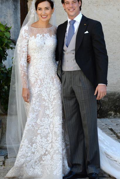 Una opción sería un vestido como el de la esposa del príncipe de Luxembu...