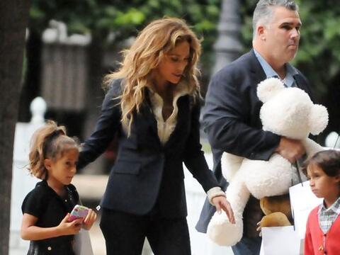 Hace algunas semanas vimos a la cantante junto a sus hijos en París.