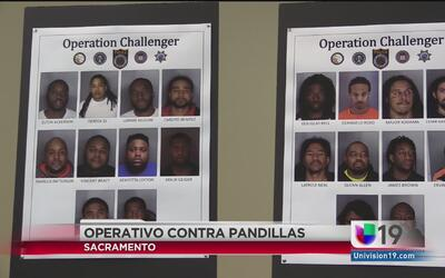 Operativo contra pandillas al norte de Sacramento