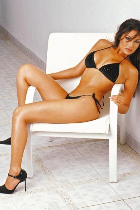 La modelo, famosa por su mirada cautivante y su cuerpo exuberante, era p...