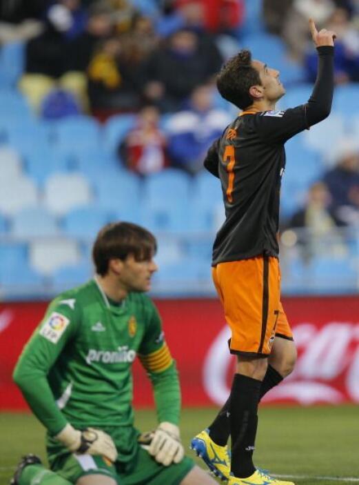 Pero el Valencia remontó para terminar igualando.