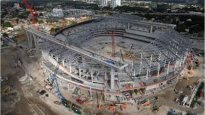 El nuevo estadio de los Marlins. Foto cortesía de los Florida Marlins.
