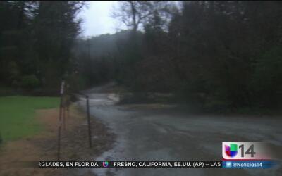Lluvias y fuertes vientos azotan la región de Gilroy