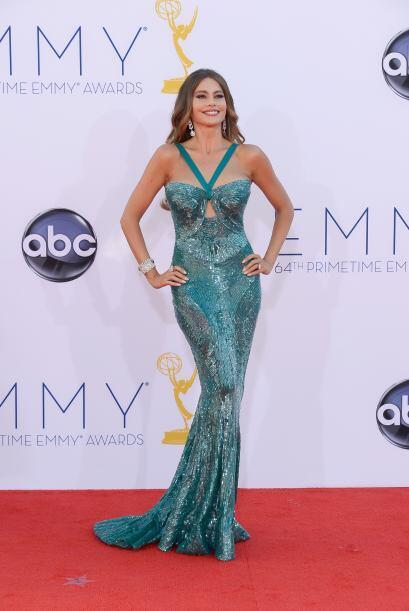 Sofía Vergara, fascinó con su look en los premios Emmy 201...