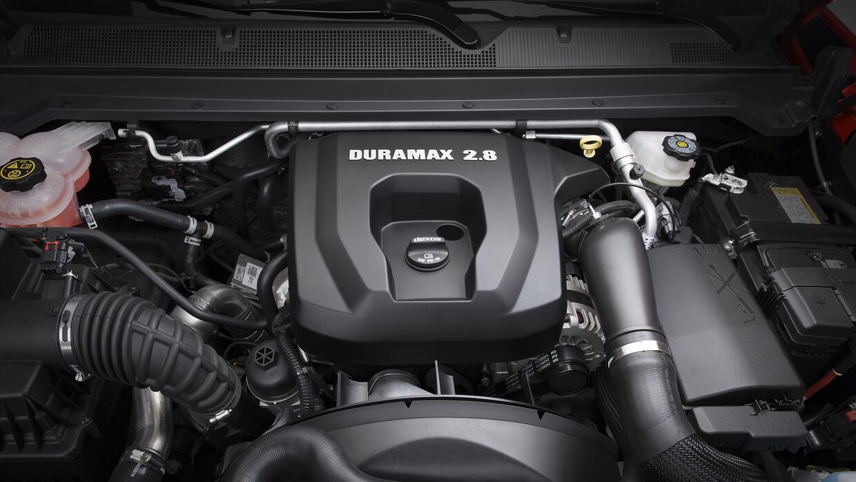 Motor Duramax 2.8 turbo-diesel