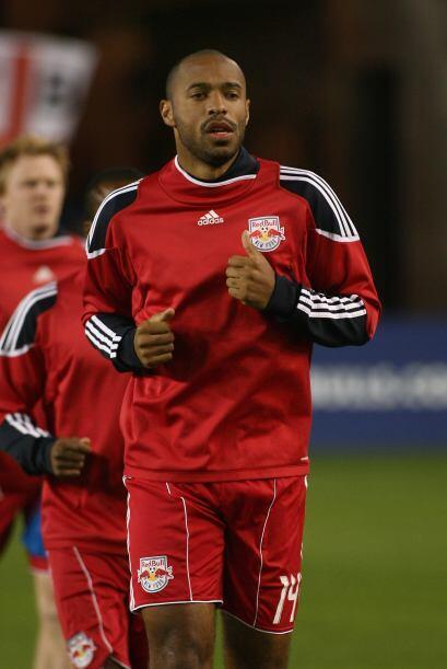 Thierry Henry, jugador del New York Red Bulls de la MLS, ha sido vincula...
