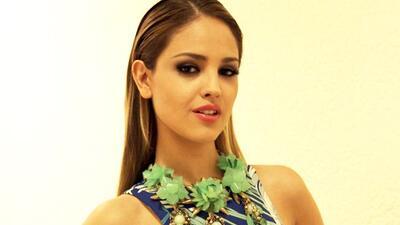 Eiza González participó en un desfile de modas.