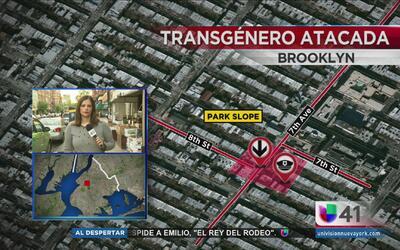 Buscan a sospechosos de golpear e insultar a una mujer transgénero en Br...