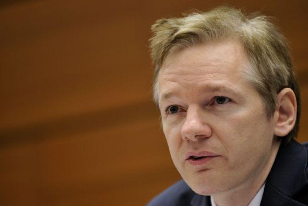 El fundador de WikiLeaks es un australiano, Julian Assange, un periodist...