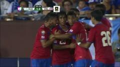 Goooolll!! Juan Bustos Golobio mete el balón y marca para Costa Rica