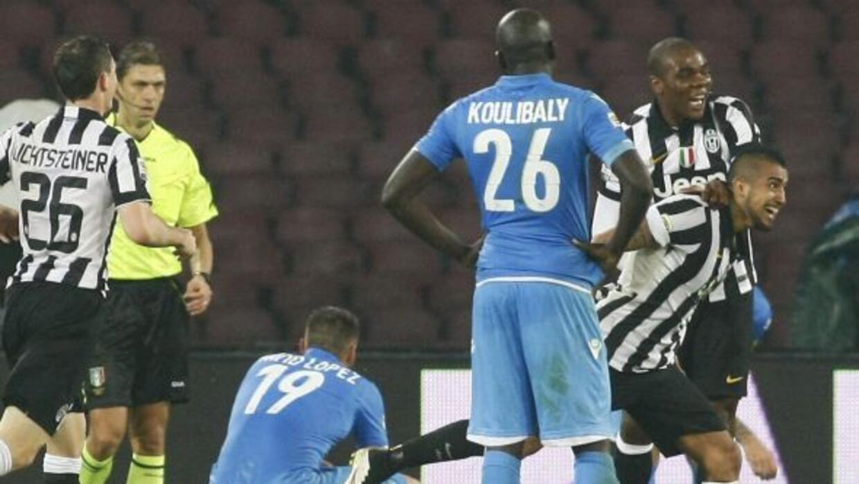 El gol de Arturo Vidal finiquitó el triunfo del 'Juve'.