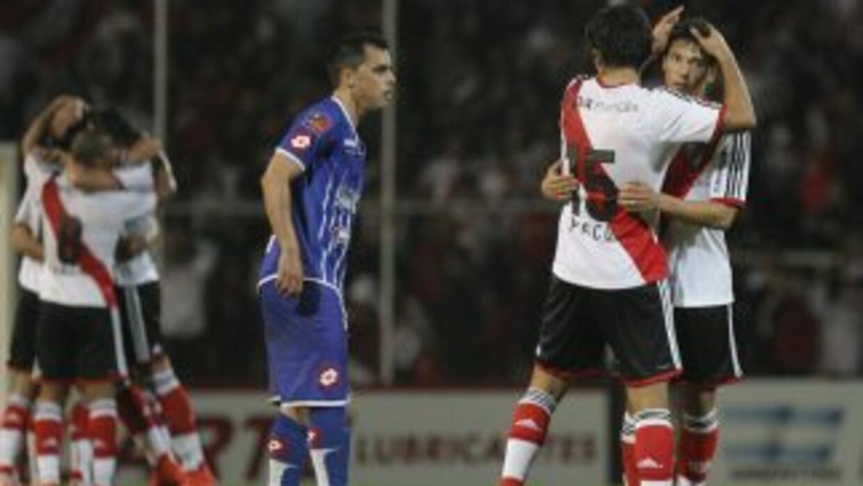 Germán Pezzella hizo el único tanto del partido sobre el tiempo.
